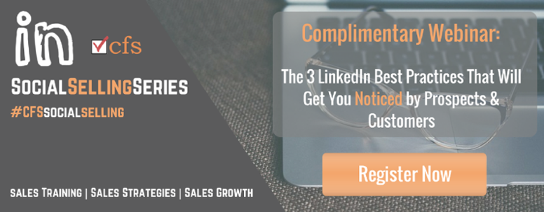 Complimentary Webinar: The 3 LinkedIn Best Practices That Will Get You Noticed