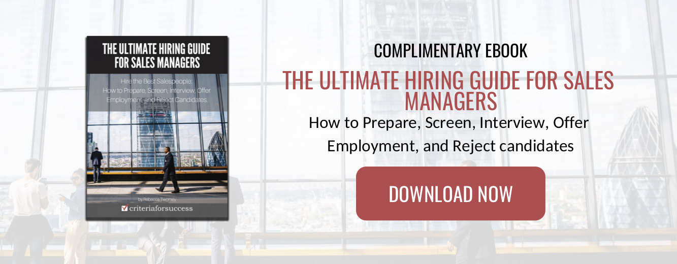 The Ultimate Hiring Guide for Sales Managers