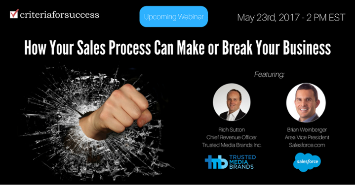 Free Webinar: How Your Sales Process Can Make or Break Your Business
