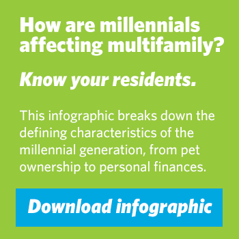 Download Infographic: Snapshot of Today's Millennial Resident