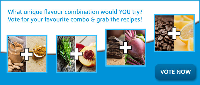 Vote for your favourite combo & grab the recipes!