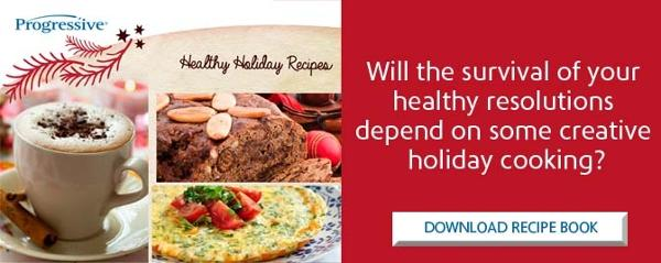 Survive the holidays with creative cooking - download the recipe book.