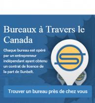 Bureaux a travers le Canada