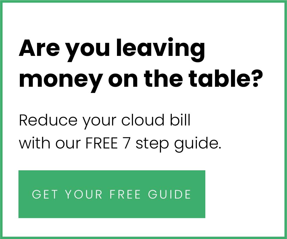 Cloud costs Sidebar CTA