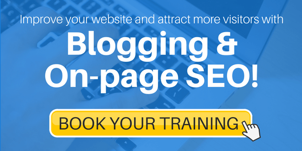 blogging and SEO training