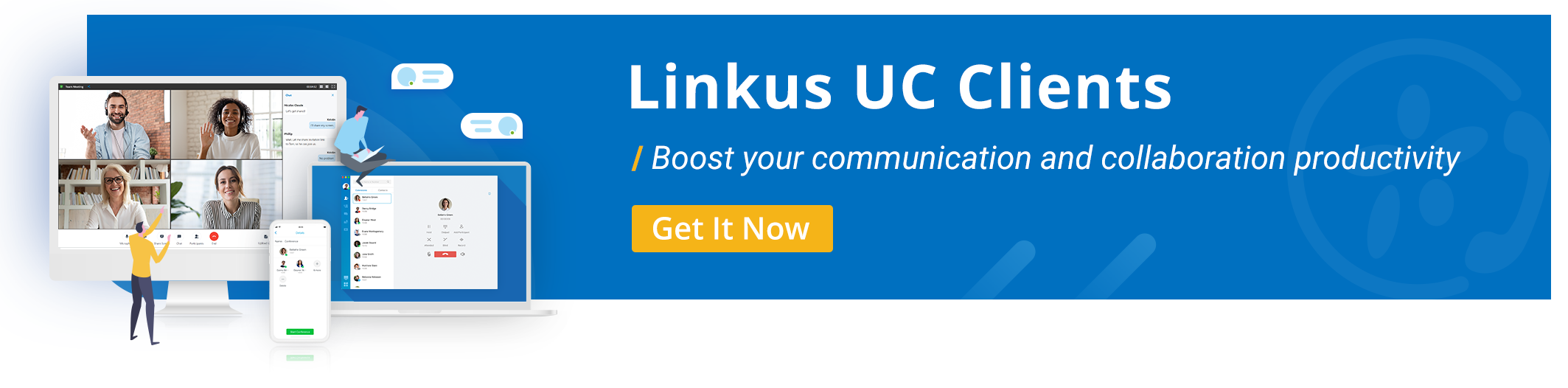 Download Free Linkus UC Softphone