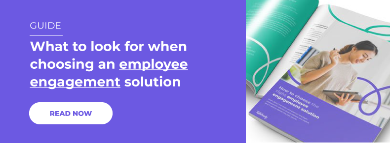 What to look for when choosing an employee engagement solution