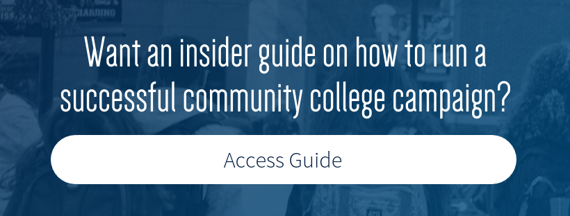 CTA_Want an insider guide on how to run a successful community college campaign?_Access eBook