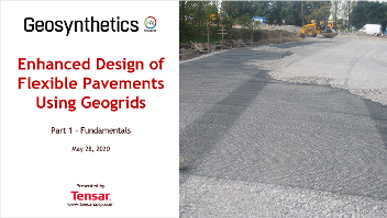 Tensar Geosynthetics Webinar - Part 1