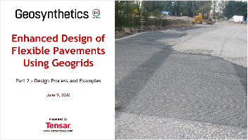Tensar Geosynthetics Webinar - Part 2