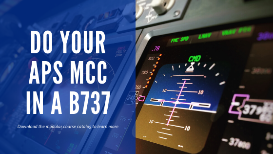 Do your MCC and APC in a B737 at OSM Aviation Academy