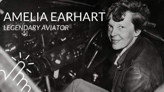 Amelia Earhart blog post