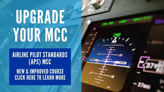 Airline Pilot Standards (APS) MCC at OSM Aviation Academy