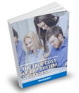 ERP system upgrades - stargarden