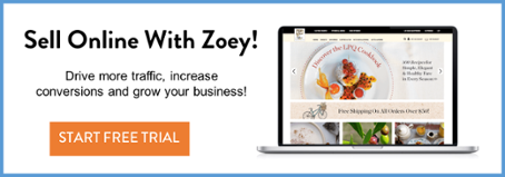 Start a Free Trial of the Zoey Ecommerce Platform