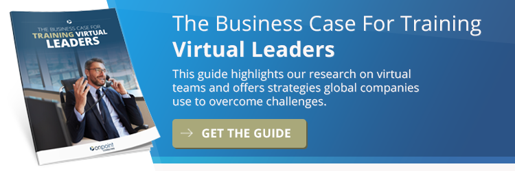 Business Case for Training Virtual Leaders