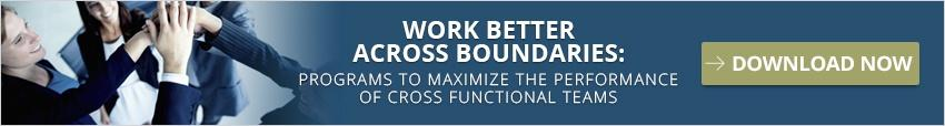 See Programs that will help your cross functional team