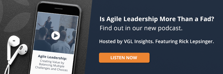 Agile Leadership Podcast Rick Lepsinger