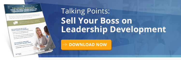 Talking Points - Sell Your Boss on Leadership Development