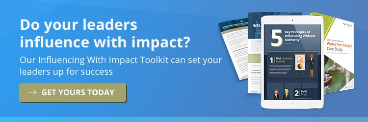 Influencing With Impact Toolkit 2019 Blog CTA