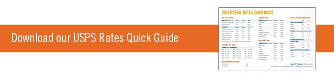 2016 USPS Rates Quick Guide