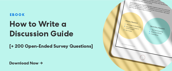 how to write a discussion guide (download)