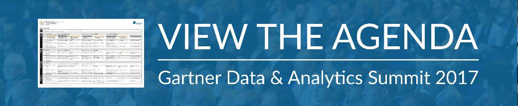 View Gartner Data & Analytics Agenda