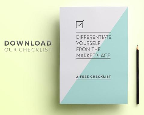 Differentiate Yourself Check List