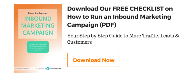 Inbound Marketing Campaign Checklist Download