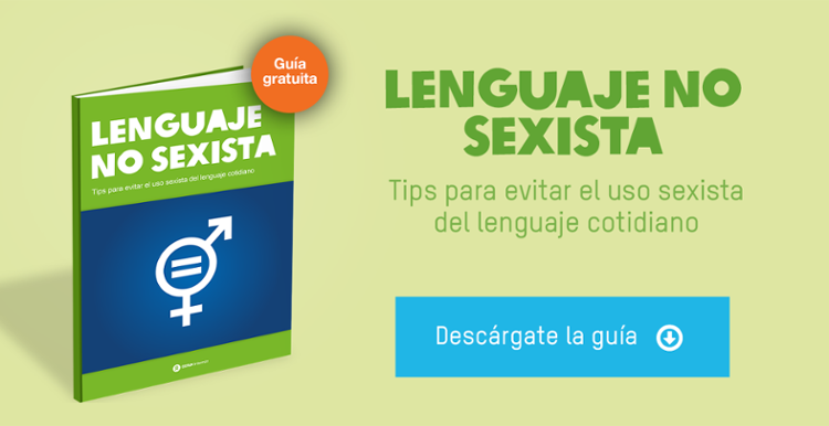 guía gratuita lenguaje no sexista