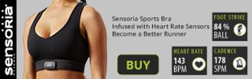 Buy now the Sensoria Sports bra infused with Heart Rate Sensors