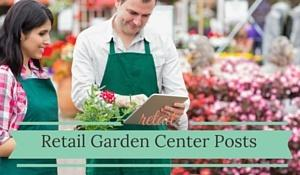 Retail Garden Center Posts
