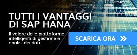 Vantaggi SAP HANA