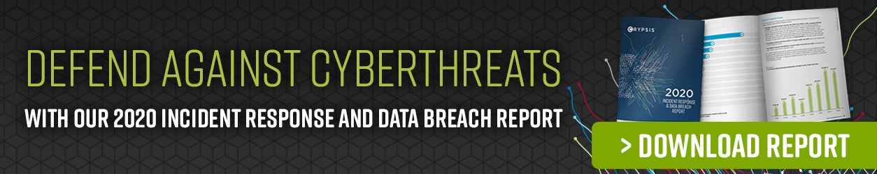 2020 Incident Response and Data Breach Report