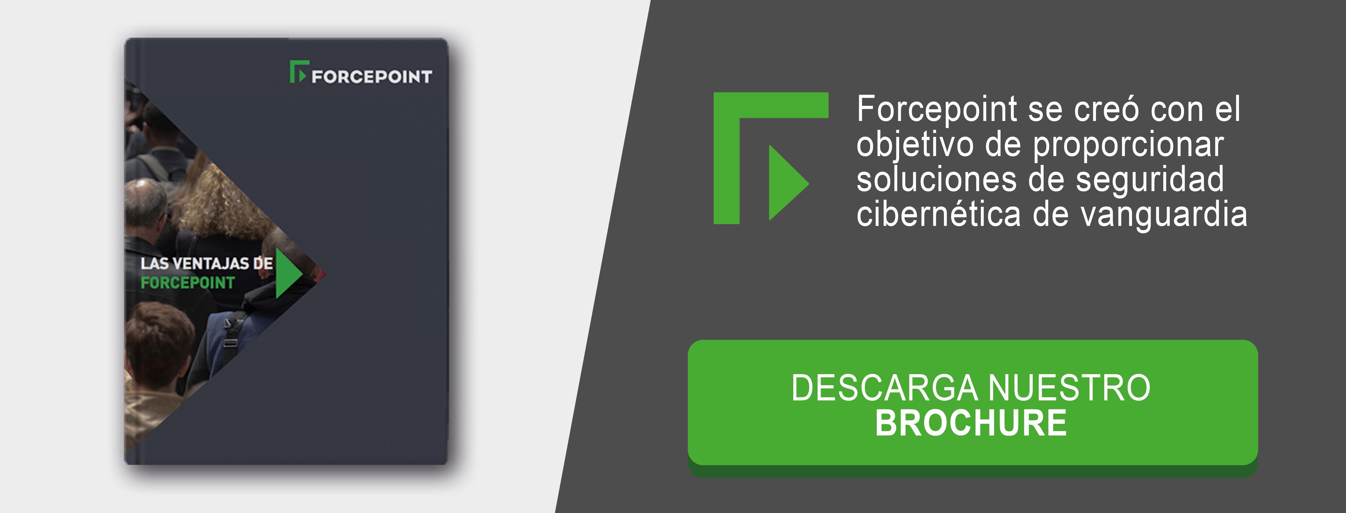 Forcepoint - Descarga de brochure corportativo en español