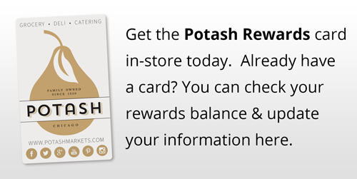 Potash Markets Reward Card