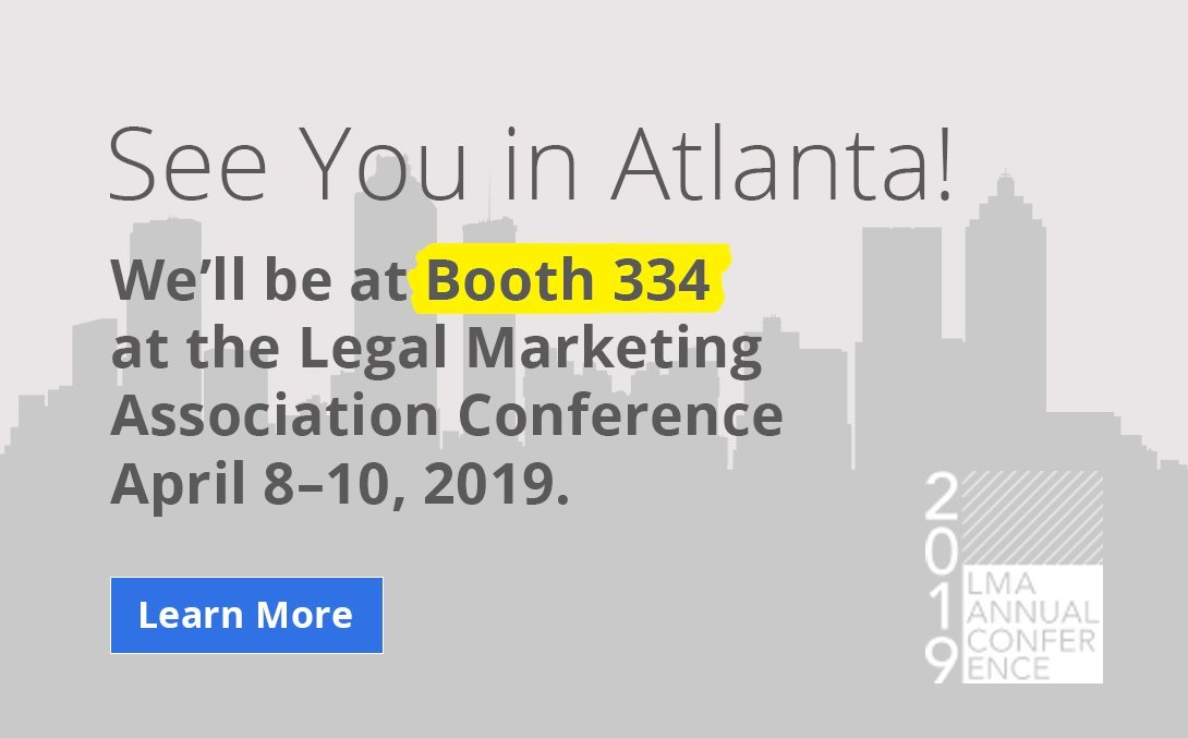 Booth 334 - LMA Conference April 8-10, 2019