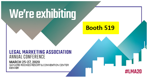 Visit us in booth 519 at LMA Denver in March 2020