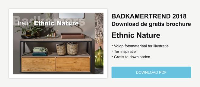 Badkamertrend Ethnic Nature