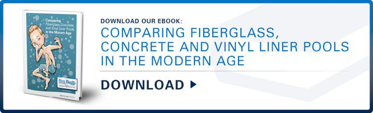 Download Our Valuable and Informational E-book comparing Fiberglass, Concrete, and Vinyl Liner Pools