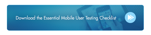 Essential Mobile User Testing Checklist Download