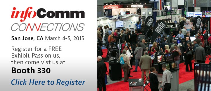 Register for InfoComm Connections on Us!