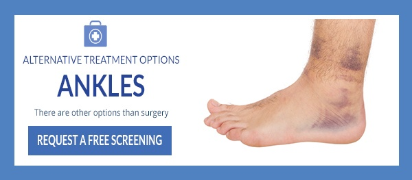 alternative treatment options for ankles