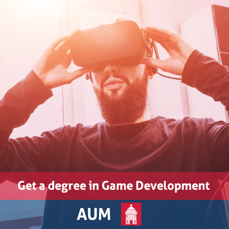 Get a degree in Game Development