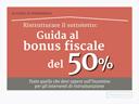 guida al bonus fiscale del 50%