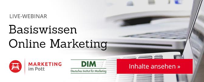 Basiswissen Online Marketing – Inhalte ansehen