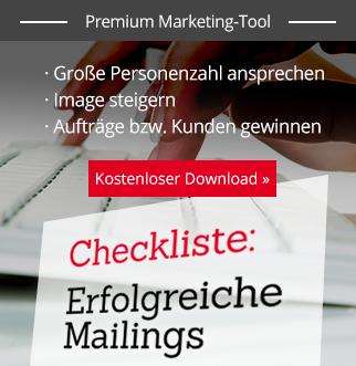 Checkliste erfolgreiches Mailing – Download