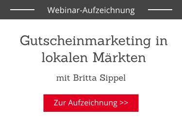 Gutscheinmarketing in lokalen Märkten: Webinar Aufzeichnung