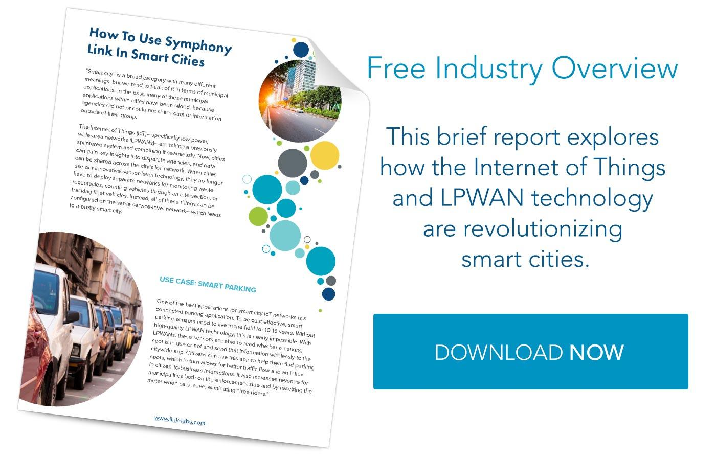 Smart Cities IoT Report