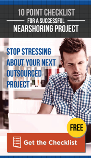 Download your 10 Point Checklist for a Successful Nearshoring Project